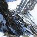 Auf dem Grat zum Gipfel des Gross Grünhorn 4044m (hier macht uns vor allem die Höhe von 4000m zu schaffen)