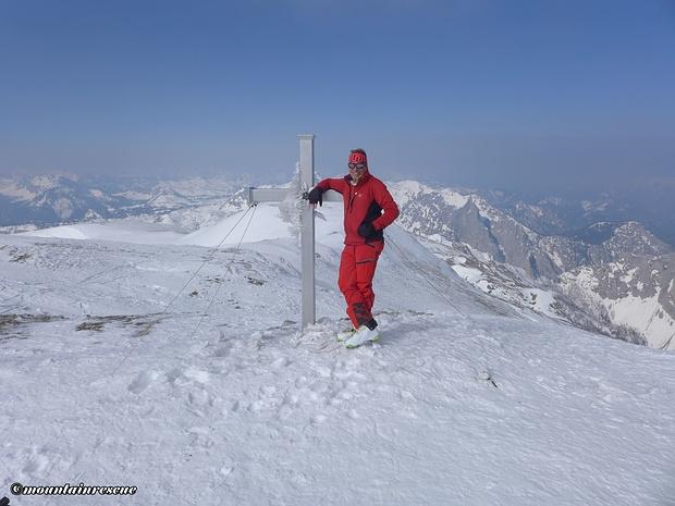 Hochwart - erster Gipfel des heutigen Tages