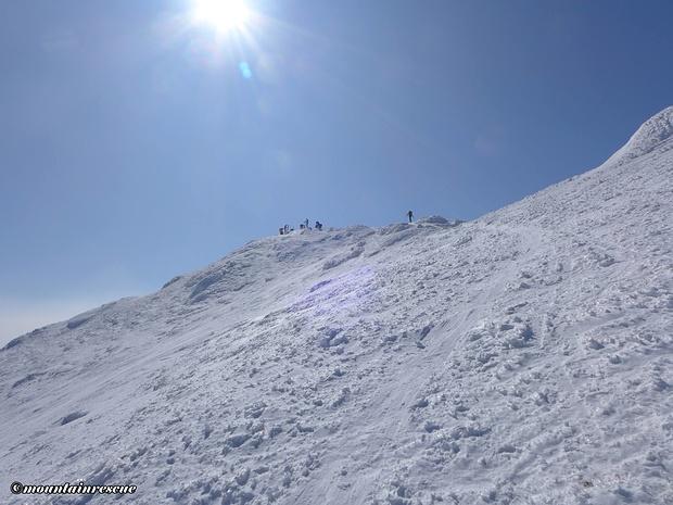 Dem zweiten Gipfel, dem Zagelkogel, entgegen
