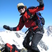 Auf dem Gipfel des Gross Grünhorn 4044m