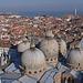 Venedig von oben vom Campanile aus