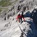 Aufstieg zur Weissschrofenspitze 2752 m