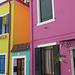gewagte Farbkombination