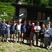 il gruppetto,con 4 amici della repubblica Ceca,in escursione