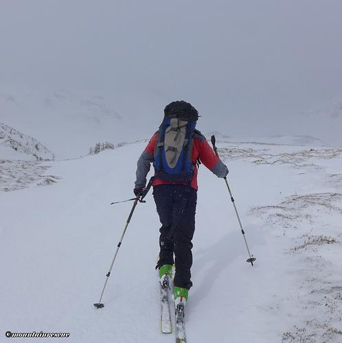 """Schneefleck-Hopping"" im Weittal ☺"