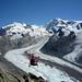 Und noch ein Bild für den Werbeprospekt – Fly Air Zermatt!