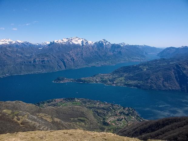 Bellagio und Lago di Lecco