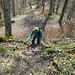 Zur Ruine Wolkenstein hoch wurde es noch anspruchsvoll ;-)