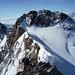 Die letzten Meter zum Gipfel des Nordend mit Blick auf die Dufour