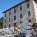 das Rifugio Monte di Binate nun aus der Nähe