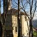 am Endpunkt der Wanderung: die Kirche von Sagno