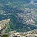 Meran, Perle des Südtirols, nahe bei Bergweg Nr. 23
