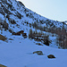 Oberalp P1913 liegt noch im Schatten