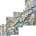 Übersichtskarte über die Trekkingroute (Extra esbitzeli unscharf, damit mich Swisstopo nicht verklagt oder so)