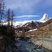 Das Matterhorn begrüsst uns.