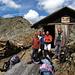 Tilde,Pierantonio,Sergio,Domenico e Giuseppe  il gruppetto di amici,a sinistra è visibile la cima Vallumbrina