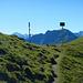 Am Sarotlajoch mit Blick zum Fluchthorn und zur Valisera.
