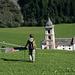 Am Ziel! Die schmucke Kirche von Vrin