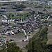 Im Rhonetal das Dorf Salgesch
