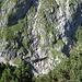 Wasserfall in der S-Flanke des Waxenstein