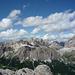 Wolkenspiel über den Dolomiten