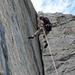Klettern am Üschenengrat