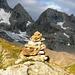 Aufstieg zum Basodino - Kastellücke 2714m (über dem Steinmann)