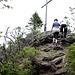 Beinahe übersehen Das Foto vom Gipfelkreuz des Kleinen Arber