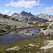 Die Splügener Kalkberge - kaum zu glauben: von hier sind es 2 Stunden Fussmarsch bis zum Rummel an der San Bernardino-Ferienreiseroute....