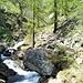 Il torrente Sulino salendo all'Alpe Montata.