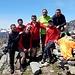 Foto ricordo di una splendida giornata: da sx: Angelo, Paolo, Roberto, Barba, Giorgio, Pippo, Gimmy