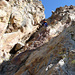 Argentera-Kamin von noch etwas weiter unten