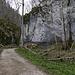 Der Eingang zum Wolfstal
