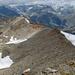 Blick vom Stockhorn zum Gornergrat