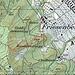Karte: Ausgangspunkt ist der Vitaparcour-Posten Nr. 7 (Kreuzung Rebeggstrasse/Friesenburgweg). Der Punkt kann von der Endhaltestelle Zielweg (P. 541) oder vom Albisgüetli (Punkt 529) via Cholbenhof erreicht werden. Zuerst folgt man anschliessend dem Friesenburgweg, dann dem (auf der Karte namenlosen) Friesenbergbach (Pfad südöstlich des Baches) und schliesslich dem Kamm der Rippe, die direkt zu den Häusern am Gratweg (früher Schwesternhäuser oder Lusthäuschen) hoch führt. Der Einstieg zur Rippe kann auch via Rossweidliegg oder via einen breiten Pfad nordwestlich des Friesenbergbaches erreicht werden (beide hier auf der Karte gepunktet). Schliesslich gibt's eine Variante via das Goldbrunnweidli (gestrichelt auf der Karte).