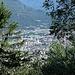 Die Tessiner Hauptstadt Bellinzona mitten im Dschungel.
