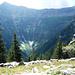 Alpe Tramoggia - Blick in den hinteren Talkessel des Val Gagnone: Links Cima di Rierna, rechts Cima di Gagnone