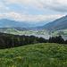 beim Abstieg liegt der Große Alpsee zu Füßen