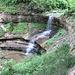 Der erste der drei Lipperüti Wasserfälle.