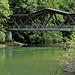 Eigenwillige Brückenkonstruktion bei Montmelon