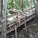 Treppenstufenweg