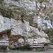 Kletterwand mit Haken