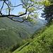 hier erneut wundervoller Ausblick ins Tal