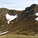 nei pressi della sella che separa il monte Belvedere dal monte Rotondo