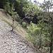 Wanderweg oberhalb der Mergelgrube