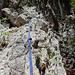 Zweites blaues Seil