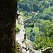 Abstieg von Monte di Fuori nach Cavergno - Seilbahn der OFIMA
