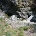 Zwischen Monte di Dentro und Monte di Fuori - Badewanne und Steg