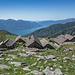 Alpe Bardughè und Lago Maggiore
