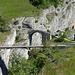 Hohe Brücke. Schöner Vergleich alt und neu.